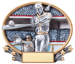 GIRLS SOFTBALL PLAQUE