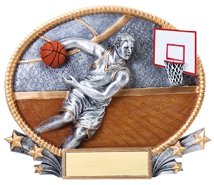 MALE BASKETBALL RESIN